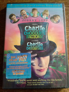 JOHNNY DEPP - CHARLIE AND THE CHOCOLATE FACTORY DVD