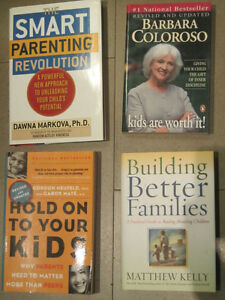 4 NEW Parenting Books - Barbara Coloroso, Gabor Mate and more