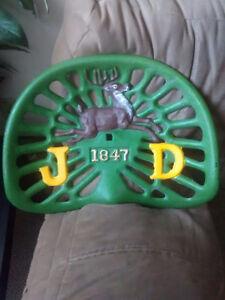 John deer tractor seat