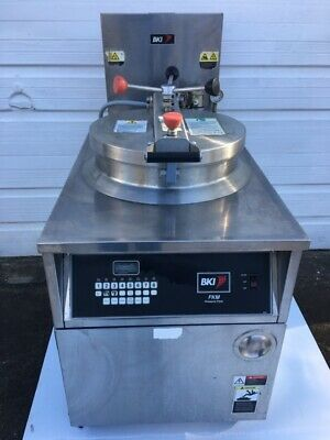 Bki Fkm-f Commercial Electric Pressure Fryer - 208v3ph Wfiltration Basket
