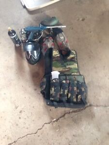 Paintball gear 150$ come get it