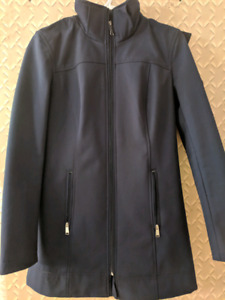 Hooded water repellent jacket size XS