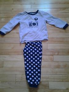 Pyjama fillette 3T
