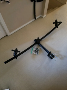 Triple monitor mount up to 3 27 inch monitor