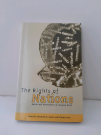 The rights of nations by Clarke and Jones Law book