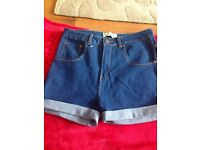 Womans denim boohoo jeans size 14