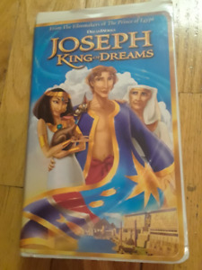 For Sale: DreamWorks Joseph: King of Dreams, Home Video,VHS