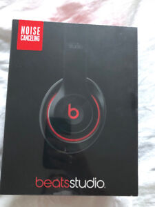 BRAND NEW Beats studio noise canceling headphones