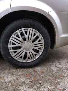 """17"""" winter tires  2 months old"""