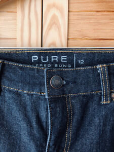 Pure Alfred Sung Designer Jeans - New Women's Never Worn - A