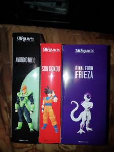 sh figuarts dragon ball z dbz goku frieza android 16