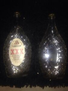 Old sherry bottles brewed in London