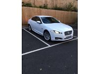 Jaguar XF 2012 3.0 litre luxury white