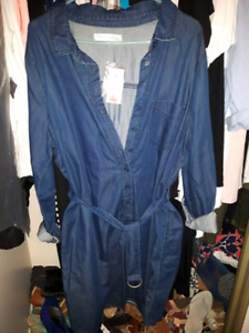2x Jean dress, great for fall. NWT $20