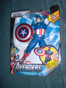 """Captain America 10"""" Tall Action Figure,Shield Throwing"""