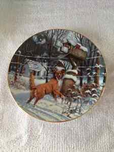 COUNTRY CHRISTMAS 1983 LOWELL DAVIS PLATE