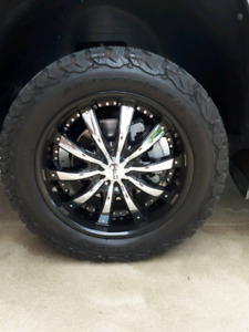 20 Chevy Ford pattern ko2 tires