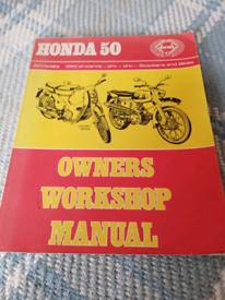 Honda 50 manual