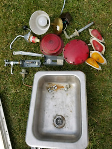 Sink and misc stuff from 69 scamper