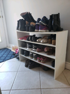 Shoe shelf, two, shoes not included lol