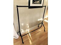 Sturdy metal clothes rail for sale 48 inches long