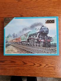 Steam train jigsaw