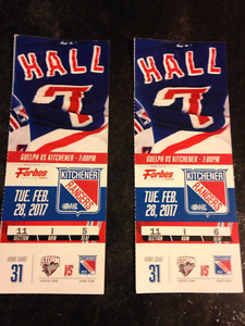 Kitchener Rangers vs Guelph Storm