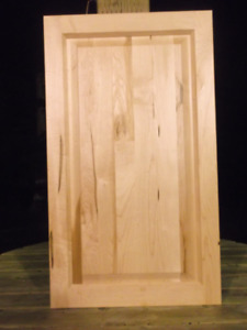 New Rustic Maple Natural Finish Cabinet Doors