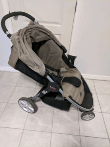 Britax carseat, base and stroller