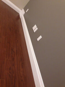We install Baseboards and trims installations and Caulking and