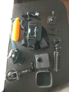 GoPro Fusion with accesories