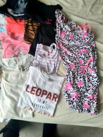 Girls summer clothes bundle age 10 - 12