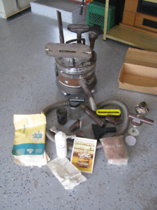 FILTER QUEEN VACCUUM  VINTAGE  WORKING  WITH ATTACHMENTS