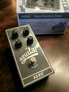 Overdrive pour basse Aguilar Agro