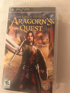 PSP game Aragorn's Quest