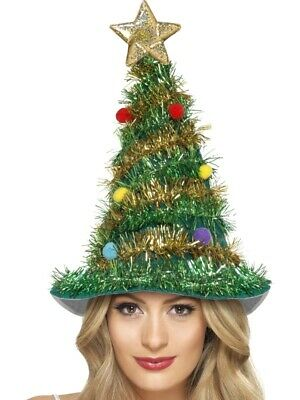 Weihnachtsbaumhut Weihnachten Baum Tannenbaum Hut Glitzer