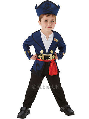 Child Disney Jake And The Never Land Pirate New Fancy Dress Costume Kids - Kostüm Anderen Land