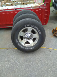 Ford truck tires and rims