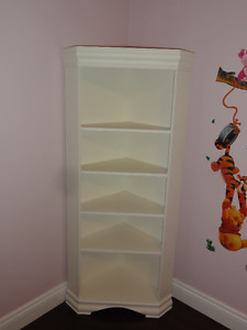 Bed, mattress and 2 book shelf for sale