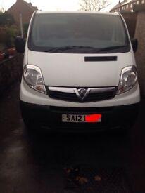 Vauxhall vivaro swb 2.0 cdit diesel