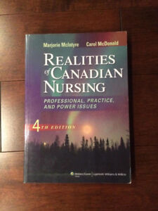 Realities of Canadian Nursing; Professional, practice, and power