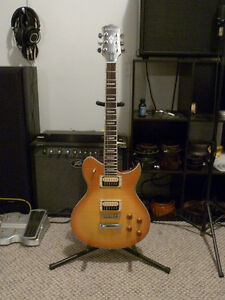 Washburn Windlx with DiMarzio Super D and FRED pickups