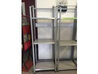 High quality grey shelves