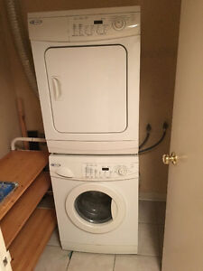 Stackable Maytag washer and drier