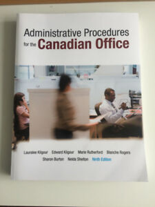 Administrative Procedure for the Canadian office Textbook