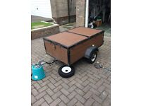 Trailer (Professionally made). Road worthy now
