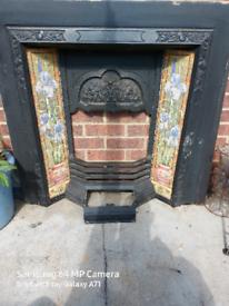 Surround fireplace