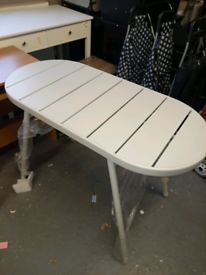 Grey metal Table only £35. RBW Clearance Outlet Leicester City Centre