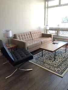 MOVING - MUST SELL SOFA AND CHAIR