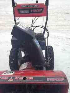 Mastercraft snowblower 8HP/26""